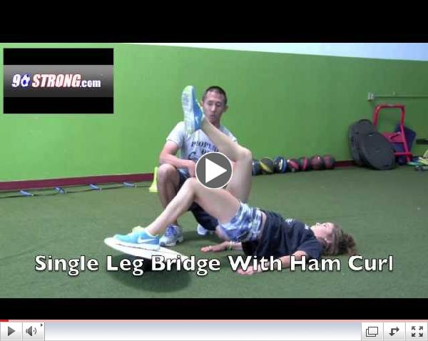 ACL Injury Prevention Bridges on Si Boards Balance Board