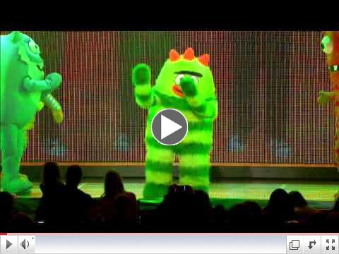 Yo Gabba Gabba! Live! Get the Sillies Out! promo
