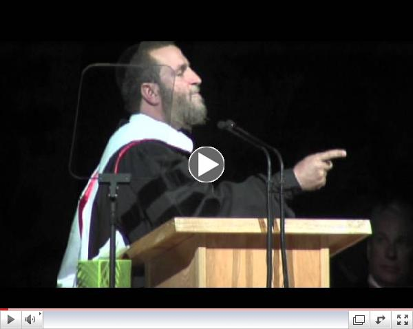 SUU 2013 Commencement Speaker - Rabbi Shmuley Boteach