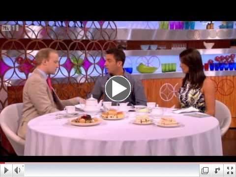 William Hanson gives Gino & Mel an afternoon tea etiquette lesson