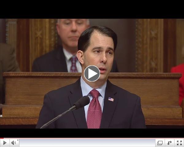 ONLINE EXTRA: Gov. Walker's State Budget Address
