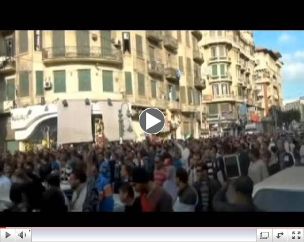 Mass Protests ACROSS Egypt Against President  Mursi