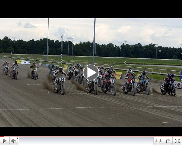 2014 Virginia Mega Mile from Colonial Downs - GNC Main Event - AMA Pro Flat Track