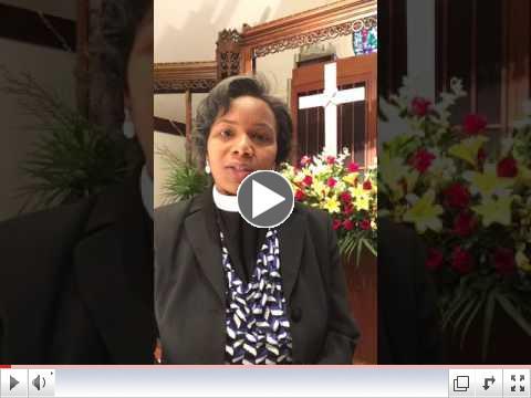 Greetings from Rev. Glenna
