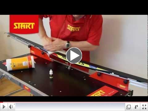 START - Application of n1 liquid glider and n-series drop test