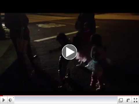 Ron McGehee has dance off in street...Gangnam Style