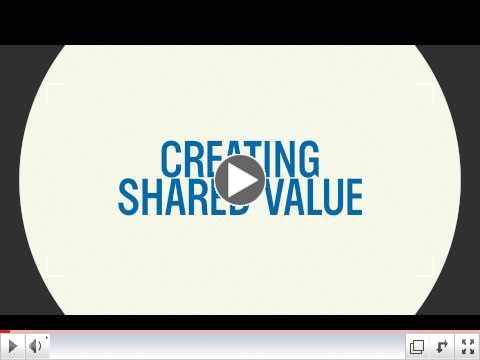 Creating Shared Value: It's the Future
