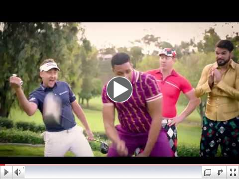 Funny pro golfer & CoolSculpting fan Ian Poulter leads the Coolsome Challenge