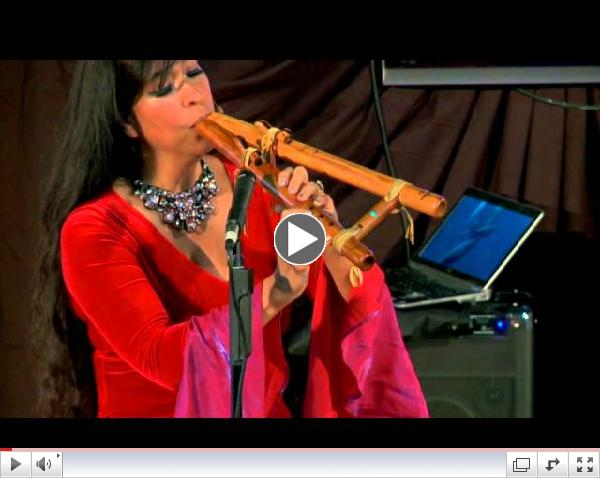 Flutes + Beatbox: From Body Casts to Stages of the World: Viviana Guzman at TEDxConstitutionDrive