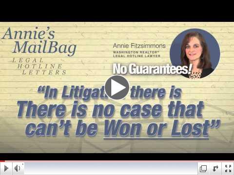 Legal Hotline Mailbag