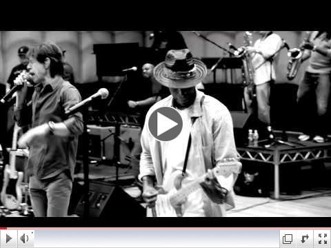 Mick Jagger & Raphael Saadiq - Rehearsal at CenterStaging