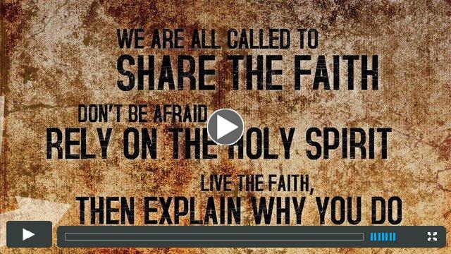Sharing The Gospel (English)
