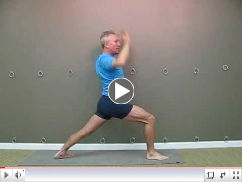 Warrior One or Virabhadrasana I