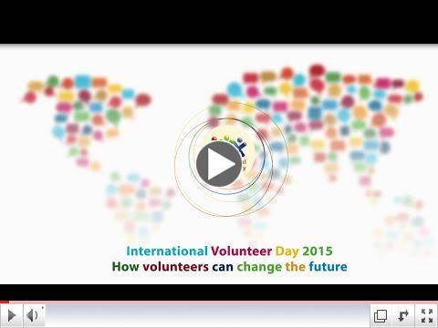 Happy International Volunteer Day 2015/ UNV