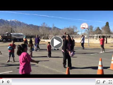 Basketball in Big Pine