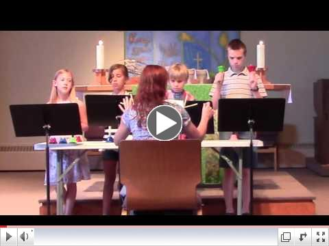 Youth Handbell Choir - June 12 Anthems