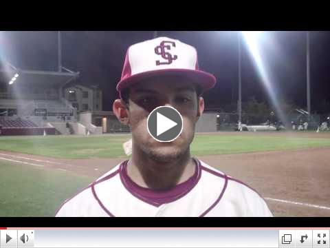 Interview with Matt Ozanne After Win vs. Cal on April 11 2012