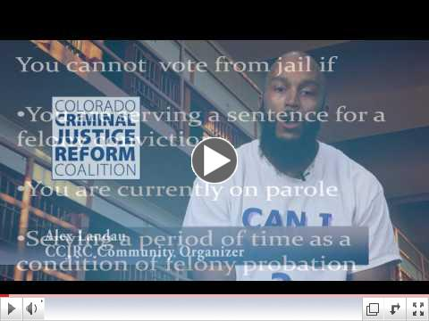 How to Vote From Denver Jail