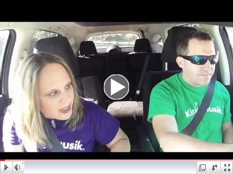 Carpool Karaoke KINDERMUSIK Style!