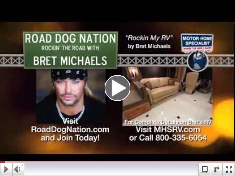 BRET MICHAELS Rock My RV Star's Motor Home for Sale at MHSRV com