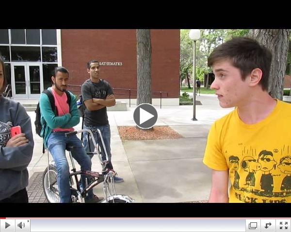 More Fun with Jesus at Boise State, May 8 2014, part 1 of 3