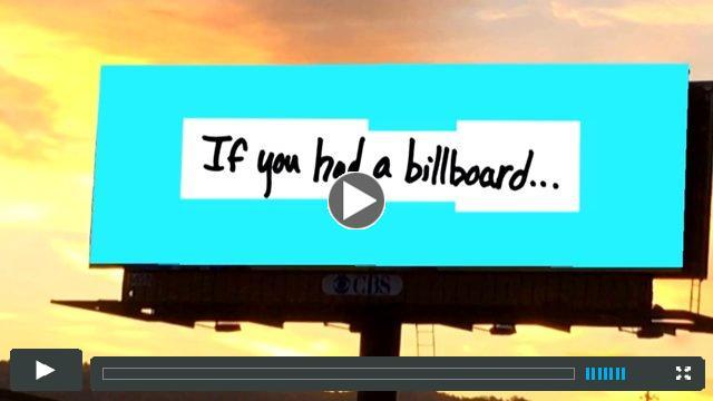 If I Had a Billboard