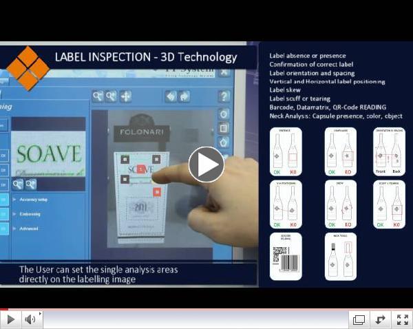 FT System - IE4000 3D 5Mpx - 3D LABEL INSPECTION
