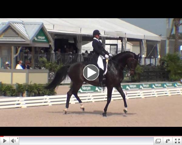 Watch the winning ride for Adrienne Lyle and Wizard!