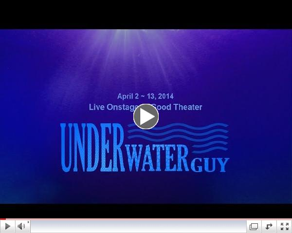 'Underwaterguy' Preview: Good Theater, Portland, ME 4/2-13/2014, Freediving Film maker