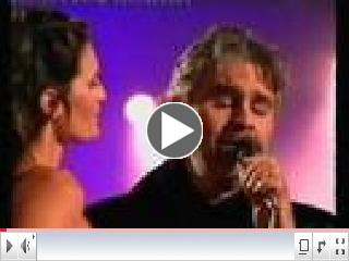 Andrea Bocelli with his Fiancee