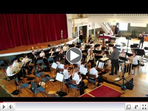 Claflin Hill Youth Wind Ensemble perform Pilatus: Mountain of Dragons.