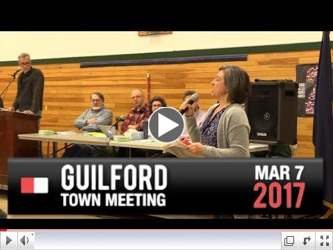 Guilford Town Meeting