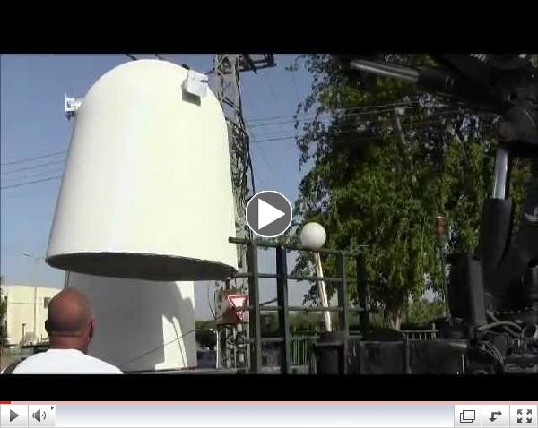 Netivot receives 4 Lifeshield Bell Shelters