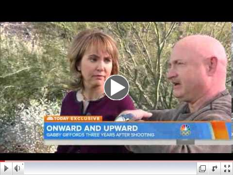 Gabby Giffords: Skydive Is My Way Of Saying 'I'm Alive'