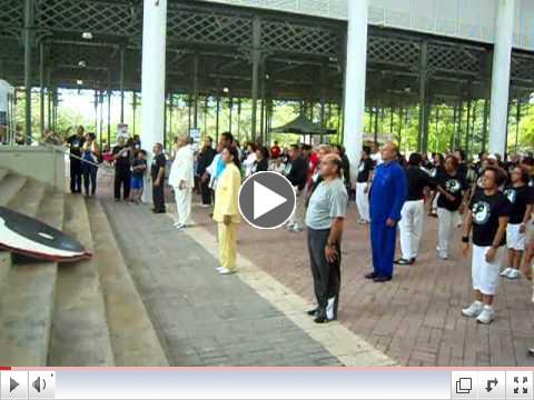 Interaccin con el  Publico World Tai chi & Qi Gong Day Puerto Rico