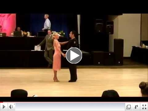 Pat and Antonio dancing Jive at 2015 Texas Challenge