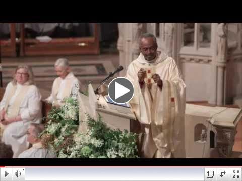 Bishop Curry's Installation Sermon