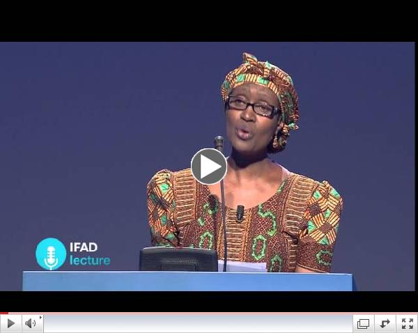 IFAD fyrirlestur: Winnie Byanyima,