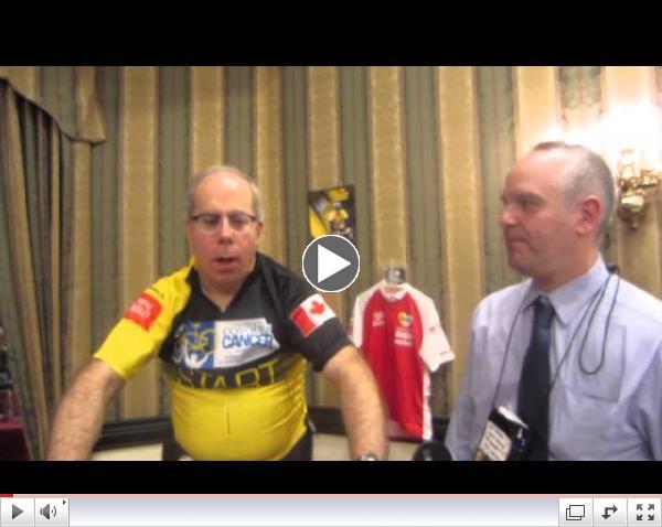 Jim Pagiamtzis interviewing AJ Parl