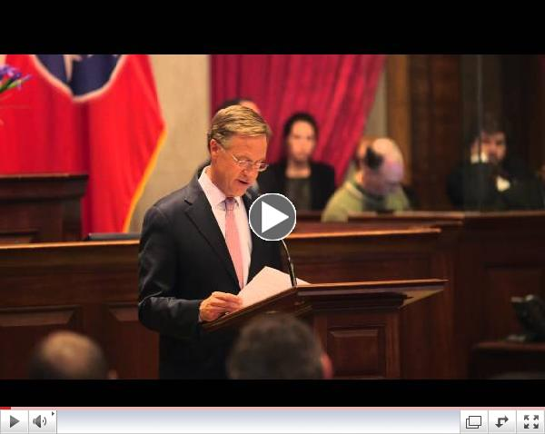 Gov. Bill Haslam : Remarks on Insure Tennessee