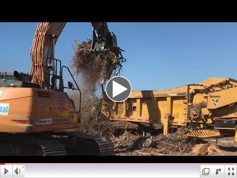 Storm Debris Grinding & Removal