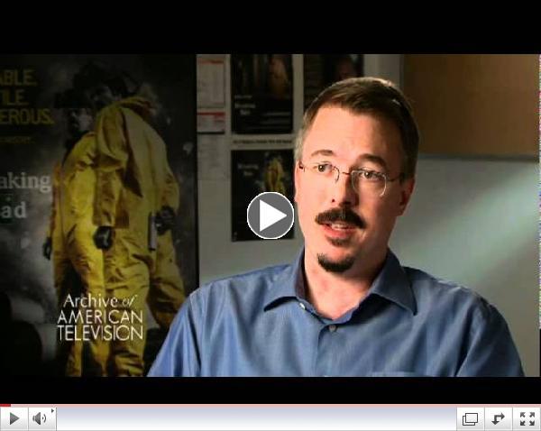 Vince Gilligan Interview Part 1 of 4 - EMMYTVLEGENDS.ORG