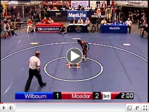 2011 NHSCA Senior Finals 135 Terrel Wilbourn (MO) vs. Taylor Moeder (KS)