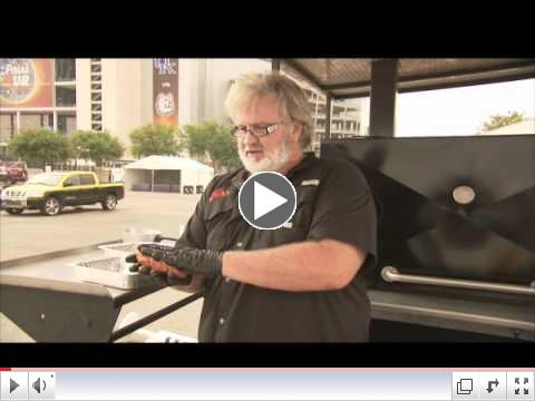 Myron Mixon will be HERE! Check out how he grills a good tasting Hamburger!