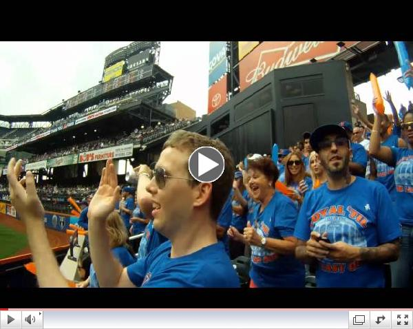 Loyal 'til the last out. (The 7 Line Army) Final Mets home game 2012