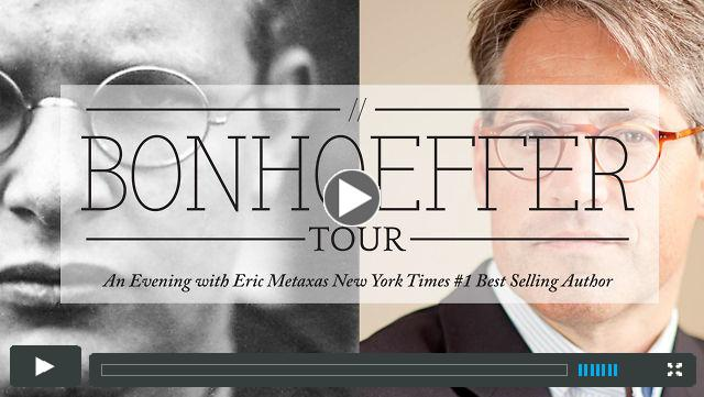 Bonhoeffer Tour Promo with Eric Metaxas