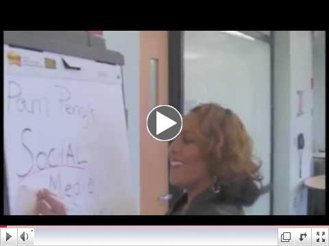Pam Perry, PR Coach Presents Social Media Agent Swag