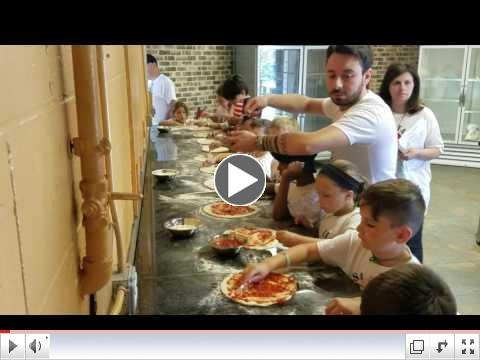 Pizza Making Day - Video Clip #3 - Summer Camp, Day 7 June 27, 2017