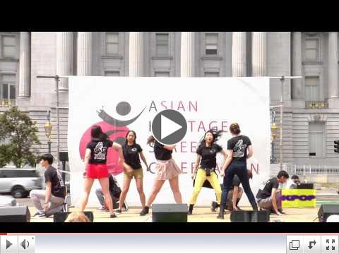 KPOP-TV Stage at the Asian Heritage Street Celebration with Guests and SoNE1