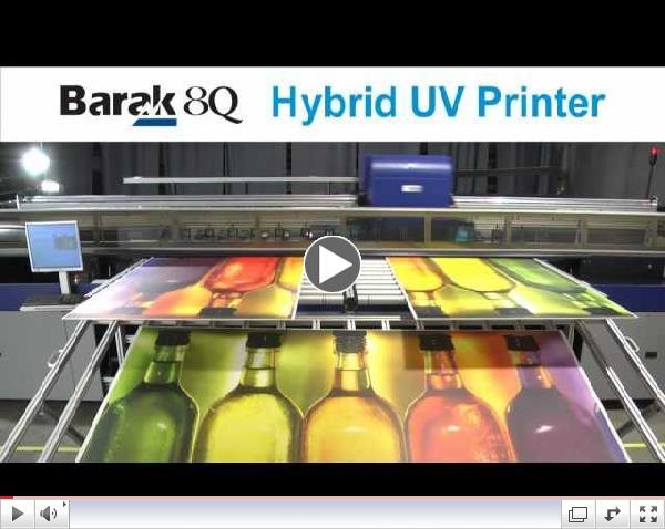 Barak 8Q Grand Format Hybrid UV Printer